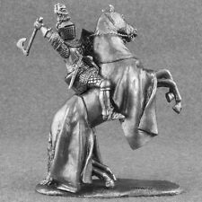 Knight Cavalry 1/32 scale Horseman Louis Nevers Medieval Toy Tin Soldier 54mm