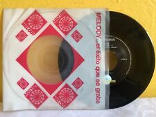 "JORGE RIGO SOLA-VOLASTE DEMASIADO ALTO MEXICAN 7"" SINGLE CS POP EN ESPAÑOL"