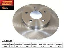 Best Brake GP5599 Rear Disc Brake Rotor