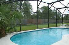 610 4 bedroom vacation pool home in gated community no rear neighbors Florida