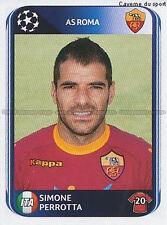 N°302 SIMONE PERROTTA # ITALIA AS.ROMA UEFA CHAMPIONS LEAGUE 2011 STICKER PANINI