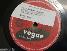 78 rpm DAVE BRUBECK QUARTET lyons busy / somebody loves me V.2280