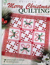 Quilting: Merry Christmas Quilting - 7 Projects -$10.95