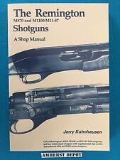 The Remington M870/M1100 Shotguns A Shop Manual by Jerry Kuhnhausen Book NEW