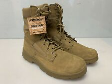 "Ridge Dura-Max 8"" Suede Leather Coyote Boot Tactical Boots 3208"
