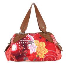 DESIGUAL XL BOLSA model NEWTOKYO TROPICANA handbag shoulder bag BNWOT
