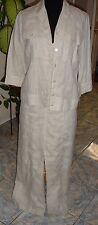 NEW BETTY BARCLAY LINEN SUIT 2 PC DRESS JACKET SIZE 36 LUX!!!