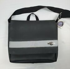 Harley Davidson Messenger Bag by Little Earth Made with Recycled Rubber NWT Rare