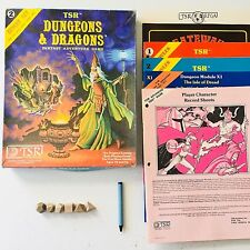 Dungeons & Dragons Expert Set 2 (TSR, 1980) COMPLETE Dice, Crayon + ALL Booklets