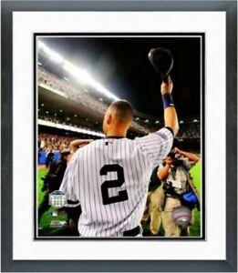 "Derek Jeter Final Game at Yankee Stadium 2008 Photo (Size: 12.5"" x 15.5"") Framed"