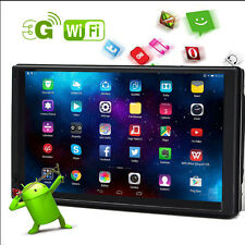 """Android 4.4 3G WIFI 7"""" Double 2 DIN Car Radio Stereo MP3 Player GPS Navigation"""