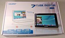 "Lilliput 7"" UM70 MINI USB LCD MONITOR WVGA - Used - Free shipping"