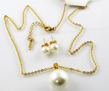 Künstliche Modeschmuck-Sets aus Perlen
