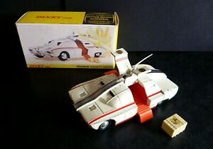 Dinky 105 Captain Scarlet MSV Maximum Security Vehicle with Crate & Box