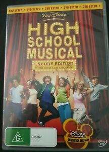 High School Musical DVD Encore Edition - SAME / NEXT DAY POSTAGE FROM SYDNEY