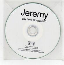 (FV536) Jeremy, Silly Love Songs - DJ CD