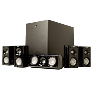 KLIPSCH HD Theater 500 Speaker System 5.1 Channel NEW, Wrapped, opened box
