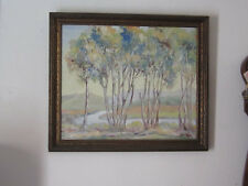 "1941 Florence Hale original painting"" California Eucalyptus """