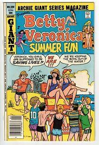 ARCHIE GIANT SERIES MAGAZINE #508 1981 NICE BIKINI CHEESECAKE COVER BRONZE AGE!