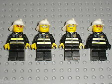 Lot Minifigs figurines personnages LEGO POMPIER  / Fireman 7240 7213 7906 7046..