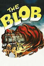 THE BLOB (DVD, 1958 HORROR) STEVE MCQUEEN