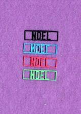 New listing Word Rectangle Noel die cuts scrapbook cards