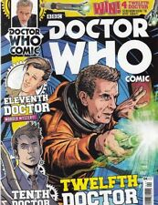 DOCTOR WHO COMIC #4 UK MAGAZINE (TITAN COMICS)