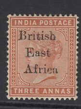 British East Africa QV 1895 Imperial Administration SG 54 - mounted Mint. KUT