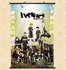 "8""*12"" Home Decor Japanese Haikyuu!! Cosplay Anime Wall Poster Scroll 1824"