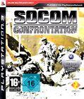 Socom Confrontation - Online Shooter für Sony Playstation 3 Ps3 Neu/Ovp