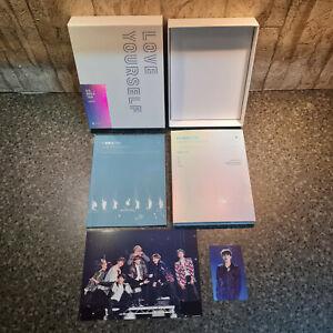 BTS - Love Yourself World Tour Europe Blu-ray incl. Jin Photocard