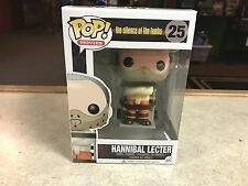 2015 Funko POP! Horror Movie Silence of the Lambs HANNIBAL LECTER #25 Figure MIB