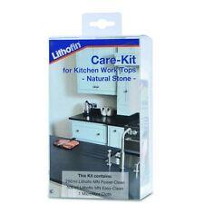 Lithofin Care Kit For Natural & Artificial Granite/Quartz Stone Kitchen Worktops
