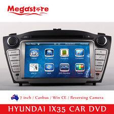 "7"" Car DVD GPS Stereo Navigation Head Unit For HYUNDAI IX35 2010-2015 model"