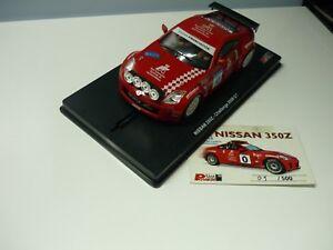 """Nissan 350Z  - Coche """"0"""" Camp. España Rallyes '08 - Power Slot 1/32"""