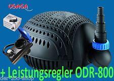 OSAGA Schwarze Flunder ECO OSF- 4500 E+ Leistungsregler ODR-800 24 Std.Versand
