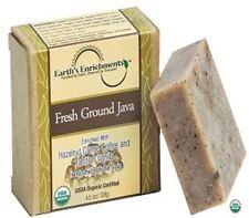 Moisturizing Bar Soap - USDA Organic Hazelnut Coffee Beans | Vanilla | Aloe Vera