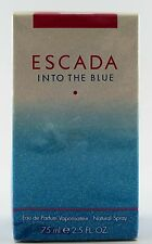 (GRUNDPREIS 306,53€/100ML) ESCADA INTO THE BLUE 75ML EAU DE PARFUM NATURAL SPRAY