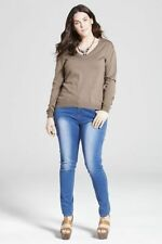 Wool Hand-wash Only Medium Knit Plus Size Jumpers & Cardigans for Women