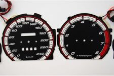 Mazda 626 GD glow gauges dials plasma dials kit tacho glow dash shift indicators