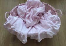 SIMPLY SHABBY CHIC RUFFLE TOP SHEET~PINK~TWIN~LOOKS UNUSED !