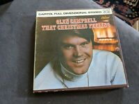 GLEN CAMPBELL THAT CHRISTMAS FEELING CAPITAL STEREO REEL TO TAPE 4 TRACK 3 3/4