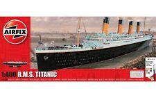 A50146A Airfix Plastic Model Kit R.M.S. Titanic Gift Set 1:400 w/ Glue Paint New