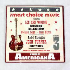 NEW World Of Americana - Lee Ann Womack, Josh Turner, Billy Yates - music cd ep