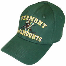 Vermont Catamounts Hockey Top of the World Green High Stick Stretch Fit Cap