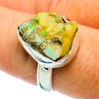 Ethiopian Opal 925 Sterling Silver Ring Size 8.5 Ana Co Jewelry R36664F