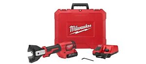 Milwaukee 2672-21F M18 18V FORCE LOGIC Cable Cutter Kit w/Fine Stranded Wire Jaw