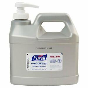 Purell Advanced Green Certified Gel Hand Sanitizer 64 oz. Refill Bottle 1 Each