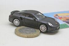 Herpa 038713  Porsche 911 Turbo, mattschwarz mit Chromfelgen