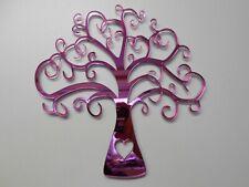 Tree Pink Acrylic Mirror, 60cm